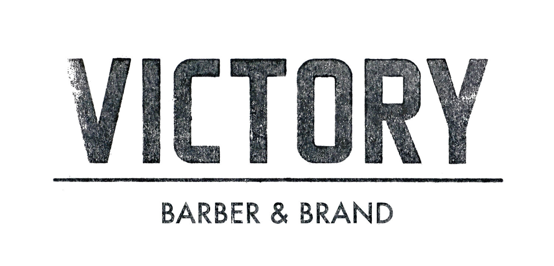 Victory Barber & Brand Victoria logo