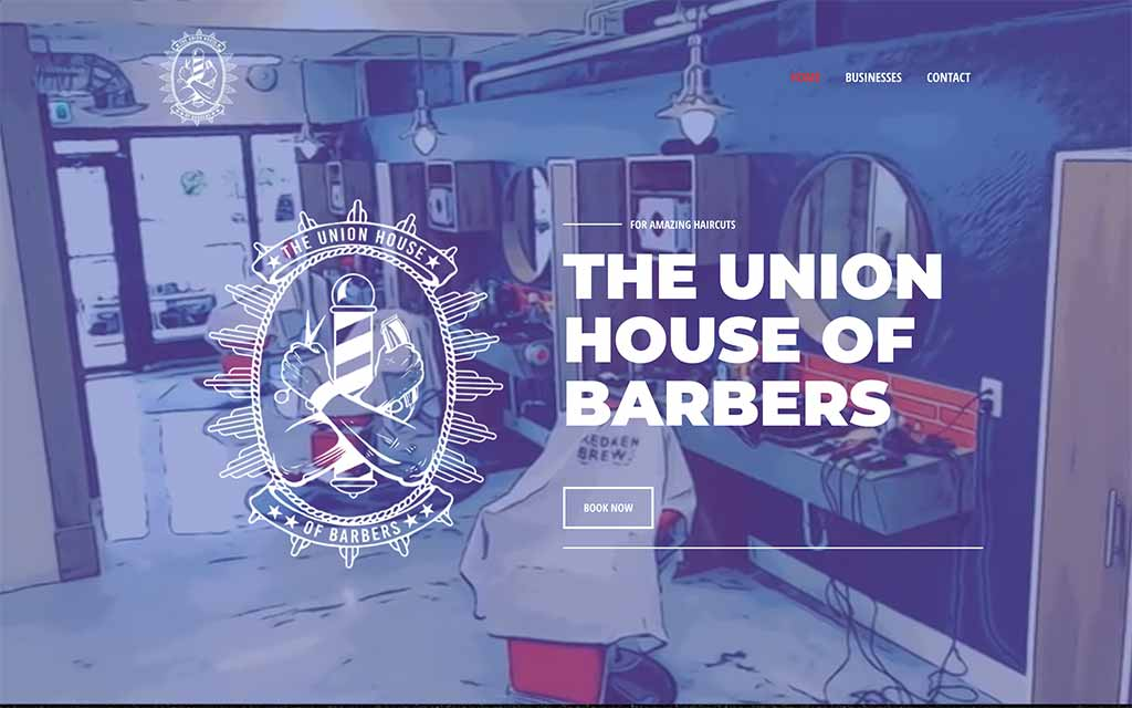 The Union House Of Barbers logo