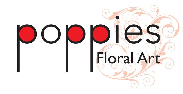 Poppies Floral Art logo