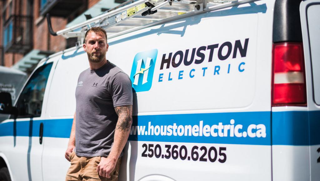Houston Electric logo