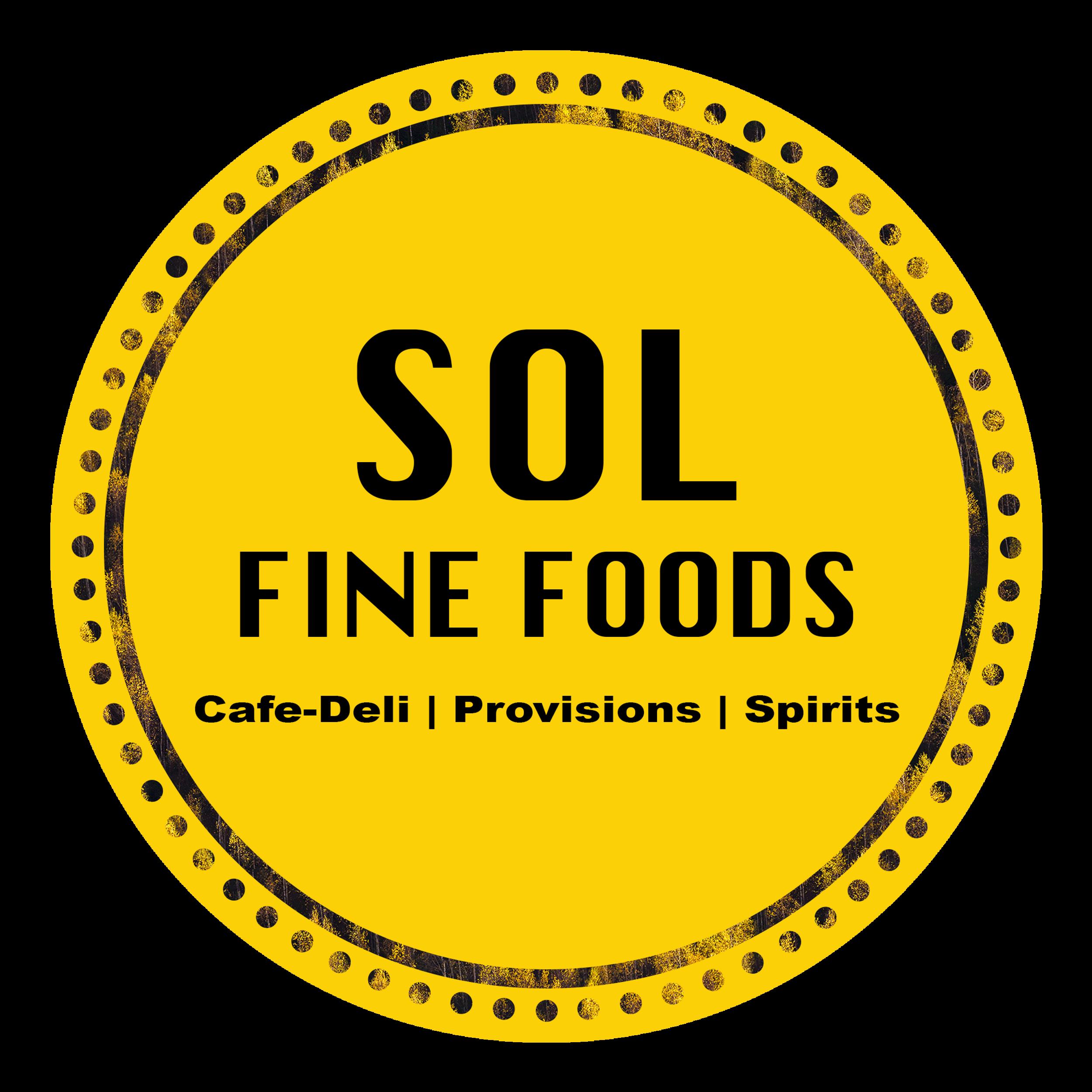 Sol Food Cafe Deli Catering logo