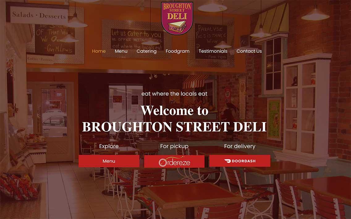 Broughton Street Deli  - Breakfast Lunch & Catering logo