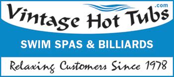 Vintage Hot Tubs Swim Spas & Billiards logo