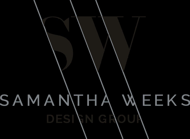 SAMANTHA WEEKS Design Group logo