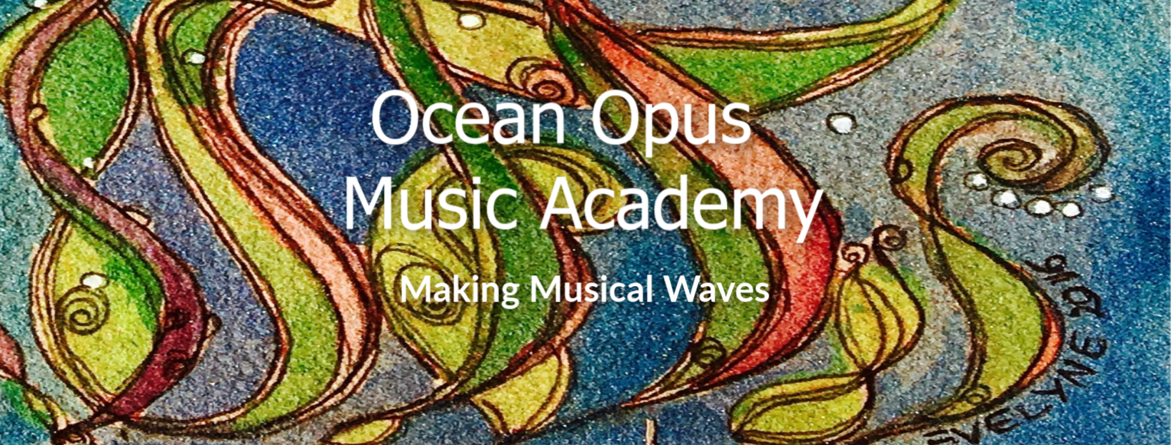 Ocean Opus Music Academy logo