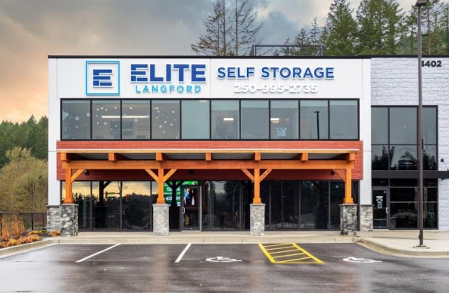 Elite Self Storage Langford - Victoria logo
