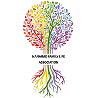 Nanaimo Family Life Association logo