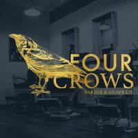 Four Crows Barber & Shave Co logo