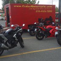 Cedar Motorcycle Riding School logo