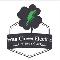 Four Clover Electric logo