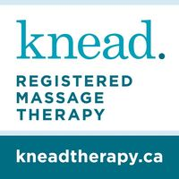 Knead Registered Massage Therapy logo