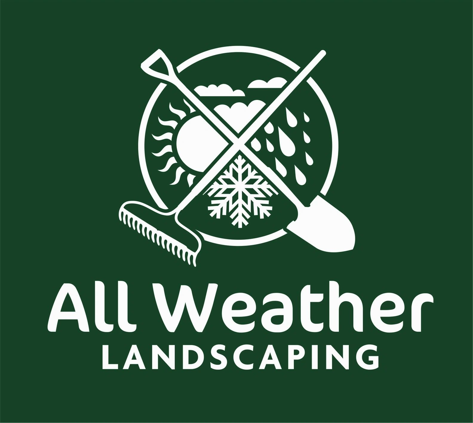 All Weather Landscaping logo