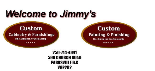Jimmy's Custom Painting & Finishing logo
