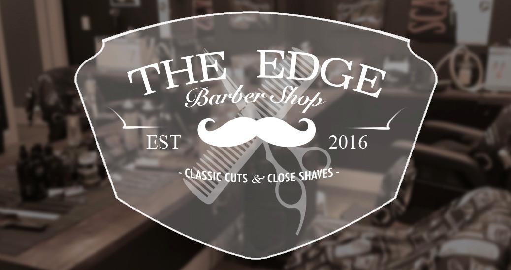 The Edge Barber Shop logo