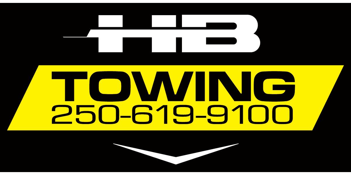 H B Towing logo