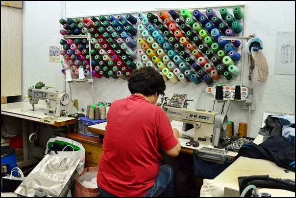 We sew cool Tailor Shop logo