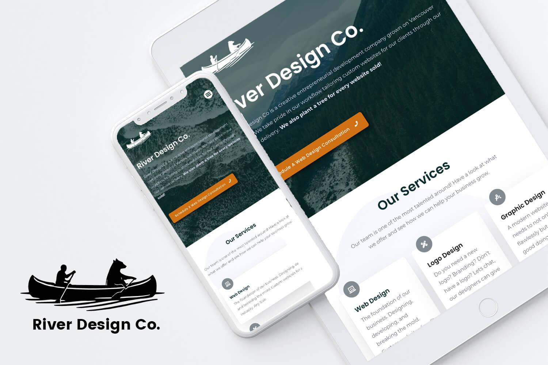 River Design Co logo