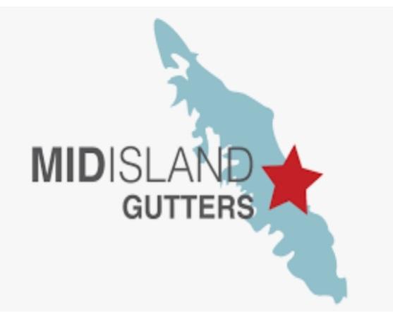 Mid-Island Gutters Ltd logo