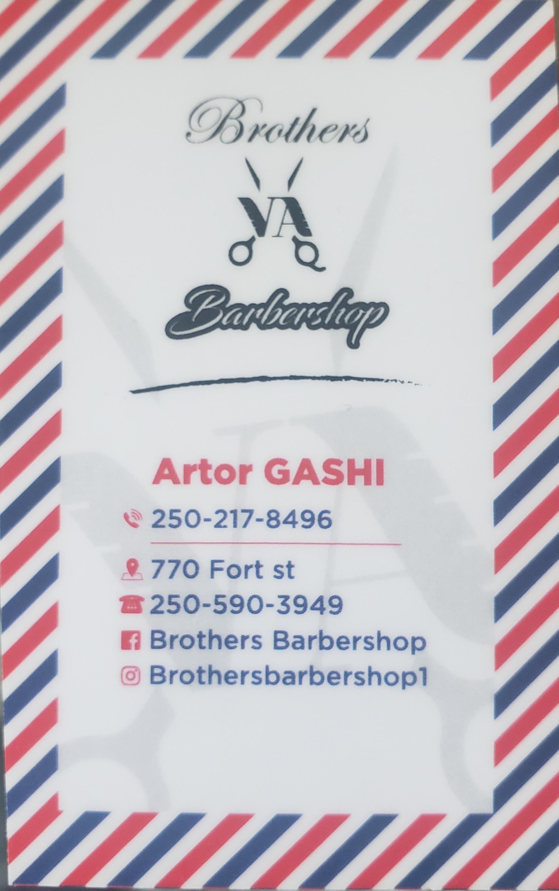 Brother's Barbershop logo