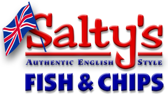 Salty's Fish & Chips logo