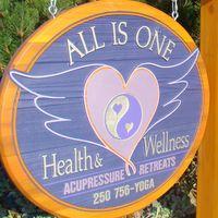 All Is One Health & Wellness logo