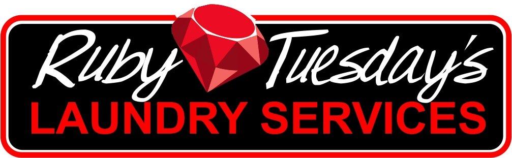Ruby Tuesday's Laundry Service logo