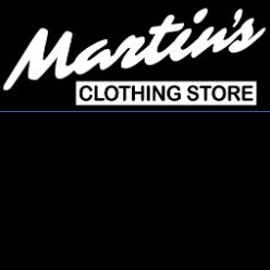 Martin's Men's Wear logo