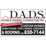 DADS Homes & General Contracting Inc logo