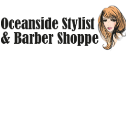 Oceanside Stylist & Barber Shoppe logo