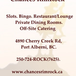 Chances RimRock - Cypress Restaurant & Lounge logo