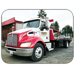 Alberni Towing logo