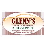 Glenn's Import & Domestic Auto Service logo