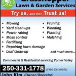 Grasshopper Lawn & Garden Services logo