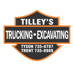 Tilley's Trucking & Excavating logo