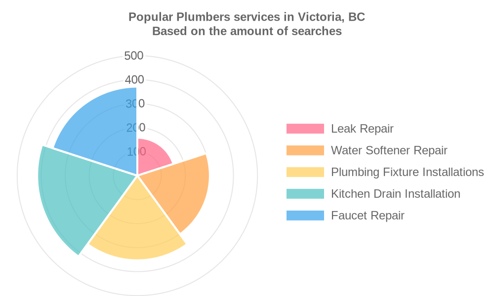 Popular services provided by plumbers in Victoria, BC