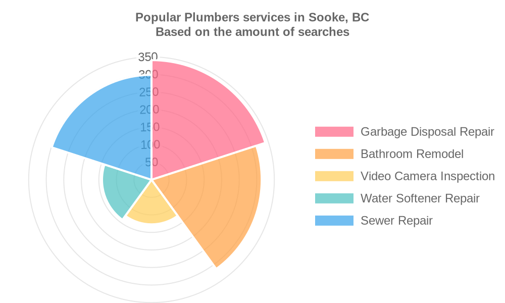 Popular services provided by plumbers in Sooke, BC