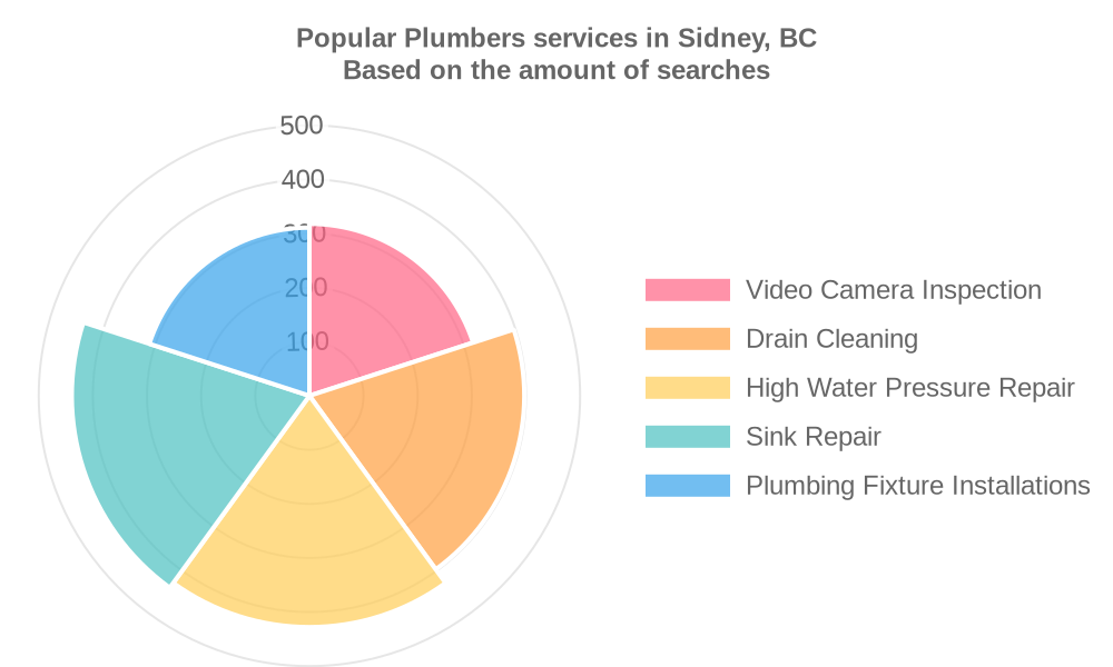 Popular services provided by plumbers in Sidney, BC