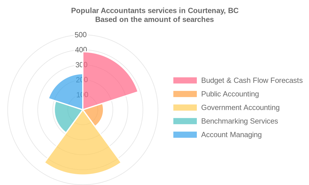 Popular services provided by accountants in Courtenay, BC