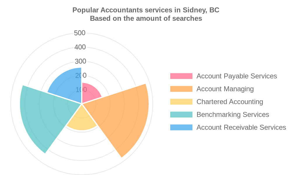 Popular services provided by accountants in Sidney, BC