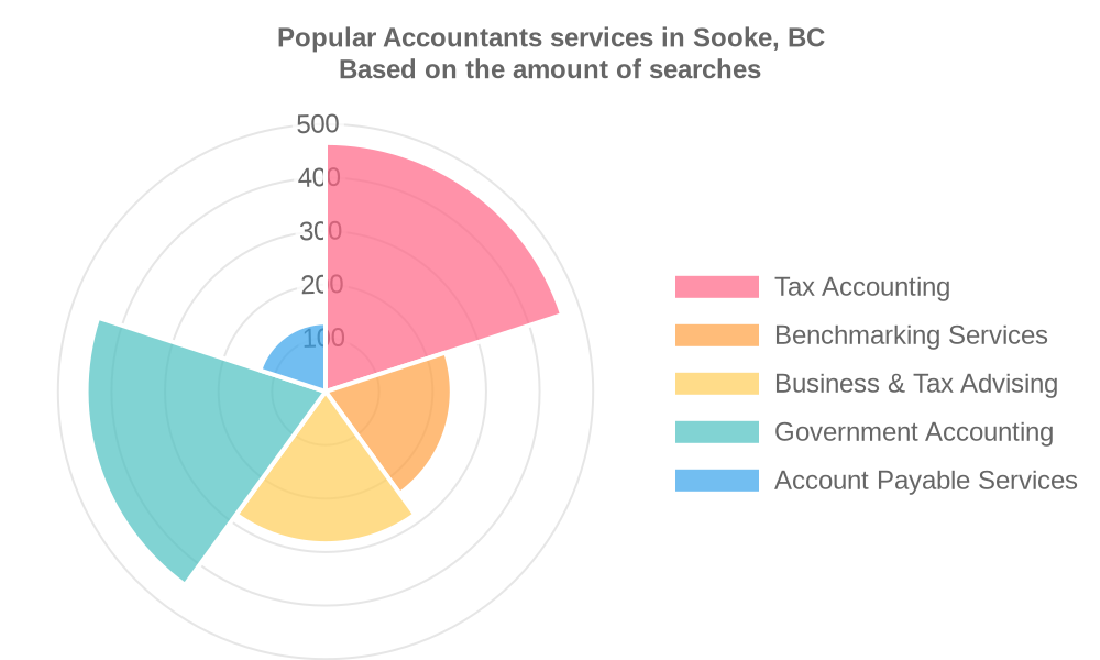 Popular services provided by accountants in Sooke, BC