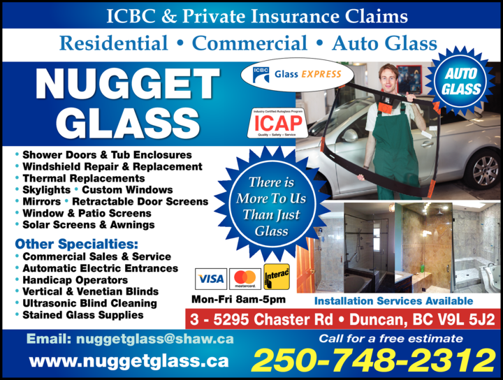 Print Ad of Nugget Glass