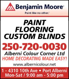 Print Ad of Alberni Colour Corner Ltd
