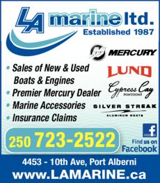 Print Ad of La Marine Ltd