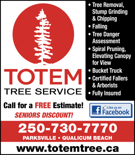 Print Ad of Totem Tree Service