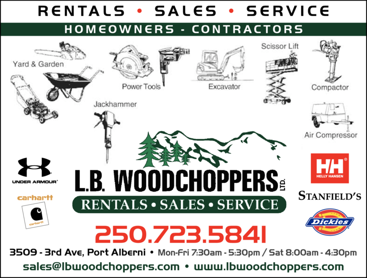 Print Ad of Lb Woodchoppers Ltd