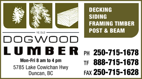 Print Ad of Dogwood Lumber