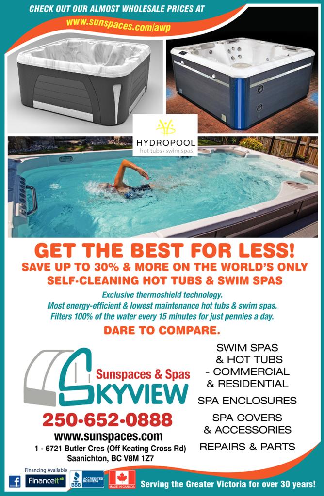 Print Ad of Skyview Hot Tubs & Swim Spas