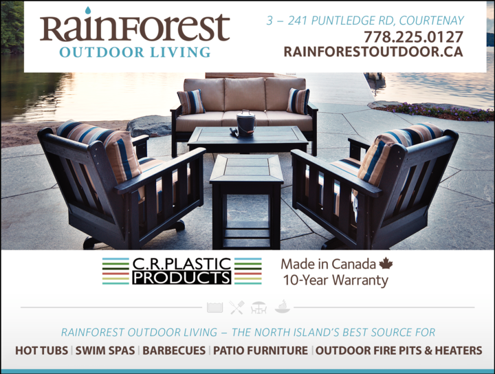 Print Ad of Rainforest Outdoor Living