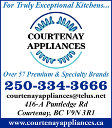 Print Ad of Courtenay Appliances