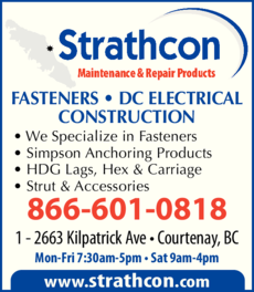 Print Ad of Strathcon Industries